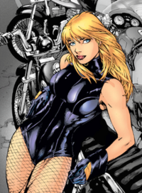 Caity Lotz - Black Canary arrow comic