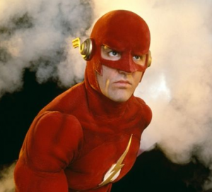flash  John Wesley Shipp 1990