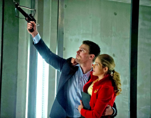 arrow-felicity et Oliver