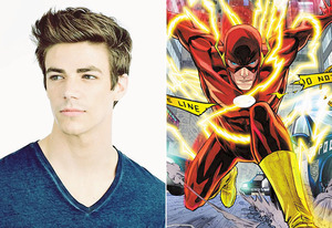 Grant Gustin  - Flash Arrow