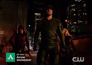 Arrow 3x18 Oliver Roy Laurel