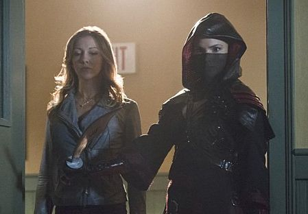 arrow 3x16 Laurel Nyssa