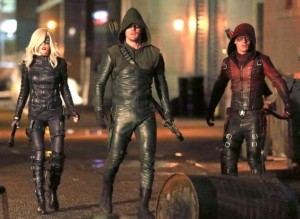 Arrow 3x18 team