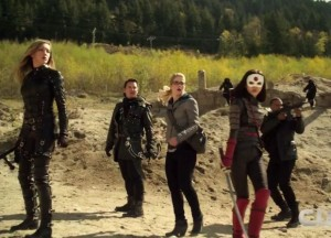 Arrow 3x22 trailer
