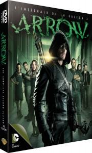 arrow intégrale saison 2 dvd