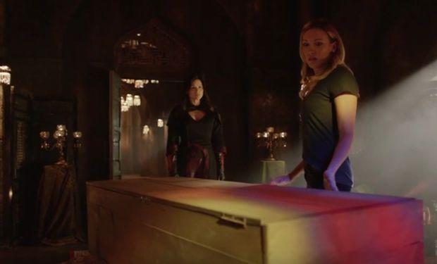 arrow 4x03 Laurel et Nyssa