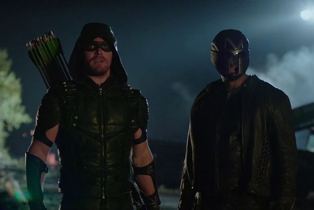 arrow 4x03 Oliver et Diggle