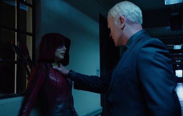 Arrow 4x07 Thea versus Damien