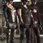 Arrow 4x08 hawkman hawkgirl flash 2