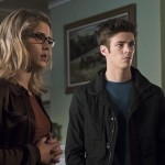 Arrow 4x08 photos Felicity Barry