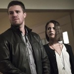 Arrow 4x08 photos Oliver Thea