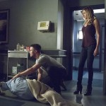 arrow 4x05 Oliver  Laurel Thea
