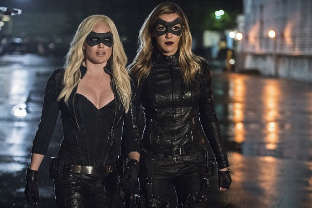 arrow 4x06 Laurel et Sara