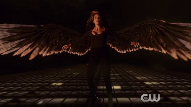 arrow 4x08 hawkgirl