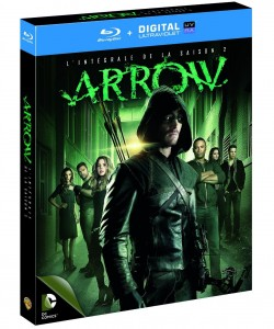 arrow saison 2 blu-ray copy digitale ultraviolet