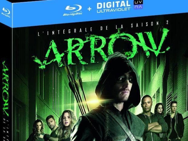 Test de l'intégrale Blu-ray saison 2 de Arrow