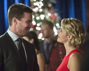 Arrow 4x09 Oliver et Felicity