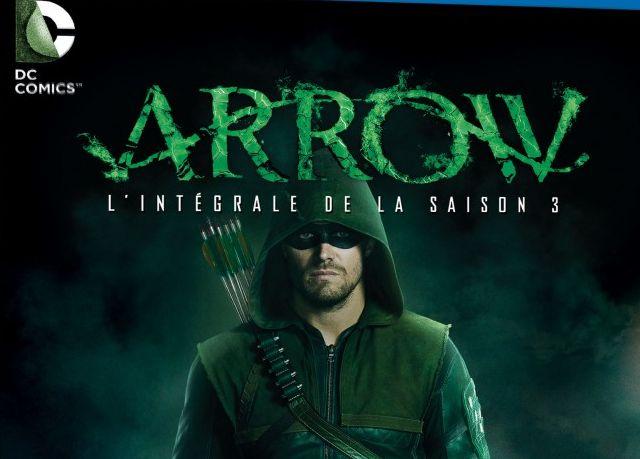 Sortie des coffrets Blu-ray et DVD de Arrow saison 3 !