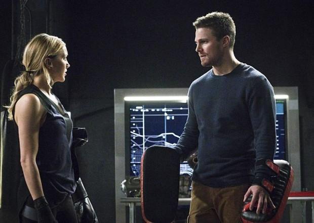 Arrow 4x11 Laurel et Oliver