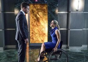 Arrow 4x12 Oliver  Felicity