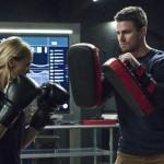 Arrow - Episode 4.11 - A.W.O.L. - Promotional Photos Laurel et Oliver