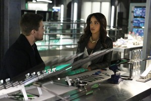 Arrow 4x15 Vixen et Oliver