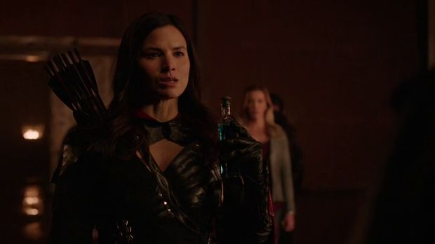 arrow 4x13 Nyssa elixir