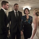 Arrow 4x16 mariage Felicity Oliver Thea Diggle