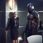 arrow 4x17 felicity + exoskeleton