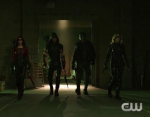 arrow 4x18 team thea olivier diggle laurel