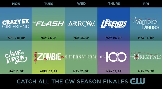season finale cw