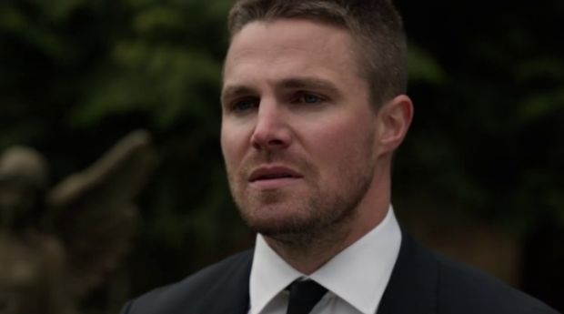 arrow 4x19 Canary Cry Oliver eloge