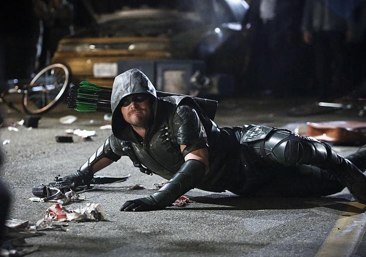 Arrow 4x23 oliver Green Arrow 3