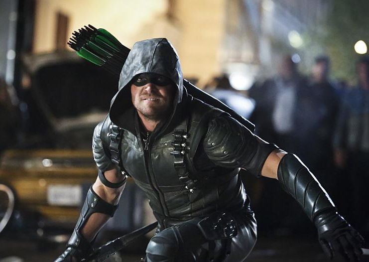 Arrow 4x23 oliver Green Arrow