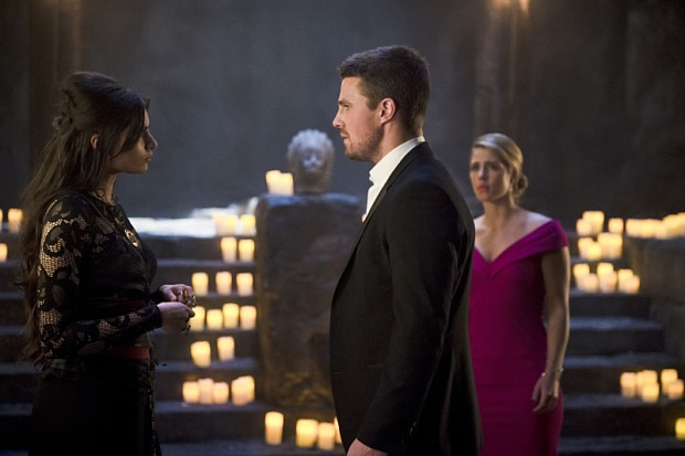 Les photos promo du 4×20 de Arrow – Genesis