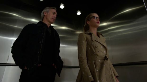 arrow 4x21 noah et Felicity
