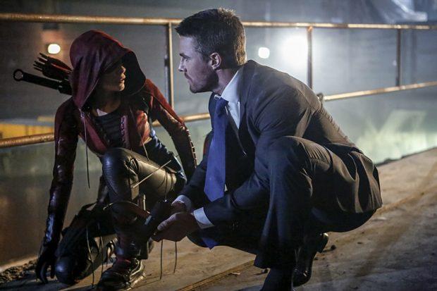 Arrow 5x01 Speedy et Oliver