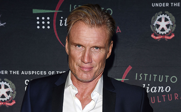 LOS ANGELES, CA - JANUARY 21:  Dolph Lundgren attends Cocktail Party Celebrating 1th Taormina Film Fest - Los Angeles 2016 at Italian Cultural Institute Of Los Angeles on January 21, 2016 in Los Angeles, California.  (Photo by Venturelli/Getty Images)