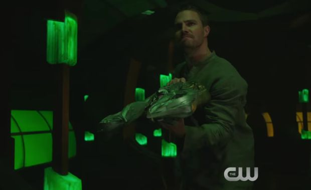 La bande annonce du 5×08 de Arrow : Invasion!