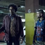 "Arrow -- ""Second Chances"" -- Image AR511b_0177b.jpg -- Pictured (L-R): Echo Kellum as Curtis Holt and Rick Gonzales as Rene Ramirez/Wild Dog -- Photo: Katie Yu/The CW -- © 2017 The CW Network, LLC. All Rights Reserved."