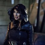 "Arrow -- ""Bratva"" -- Image AR512b_0223b.jpg -- Pictured: Lexa Doig as Talia Al-Ghul-- Photo: Cate Cameron/The CW -- © 2017 The CW Network, LLC. All Rights Reserved."