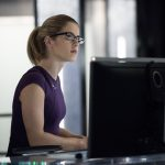 """Arrow -- """"Bratva"""" -- Image AR512a_0209b.jpg -- Pictured: Emily Bett Rickards as Felicity Smoak -- Photo: Cate Cameron/The CW -- © 2017 The CW Network, LLC. All Rights Reserved."""