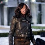 """Arrow -- """"The Sin-Eater"""" -- Image AR514b_0244b.jpg -- Pictured: Rutina Wesley as Liza Warner -- Photo: Robert Falconer/The CW -- © 2017 The CW Network, LLC. All Rights Reserved."""