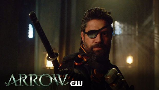 Arrow _ Lian Yu Trailer _ The CW (BQ) deathstroke slade Wilson