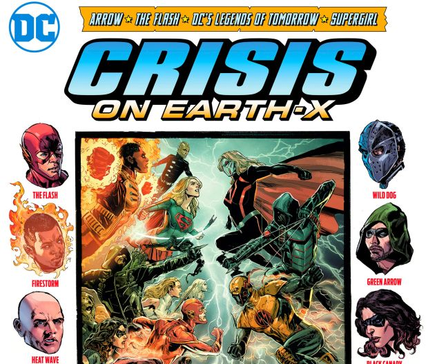 Crisis on Earth X : Le Mega Crossover DC comics de la nouvelle saison