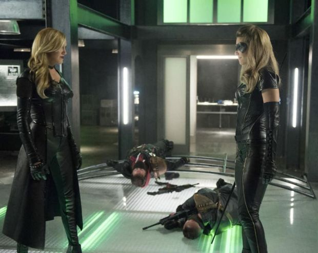 Les photos du premier épisode de la saison 6 d'Arrow – 6×01 – Fallout