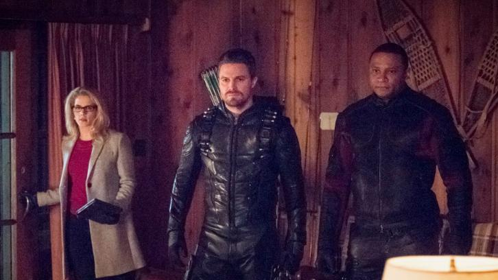 La bande annonce du 6×14 de Arrow – Collision Course